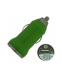 Xccess Car Charger Tiny USB 1.0A Green