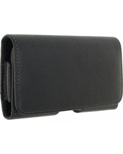 """Xccess Universal Horizontal Holster with Rotating Clip 5.5"""" Black"""