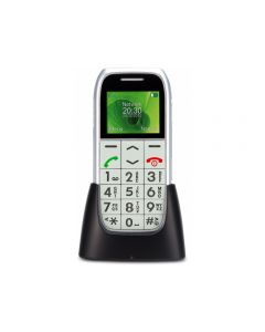 PM-595 Profoon Big Button GSM incl. Cradle Silver