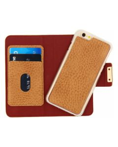 Mobilize Detachable Wallet Book Case Apple iPhone 6/6S Terracotta with Copper Closing