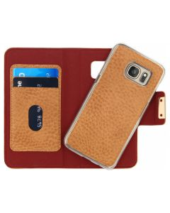 Mobilize Detachable Wallet Book Case Samsung Galaxy S7 Terracotta with Copper Closing