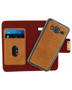 Mobilize Detachable Wallet Book Case Samsung Galaxy J3 2016 Terracotta with Copper Closing