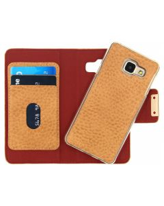Mobilize Detachable Wallet Book Case Samsung Galaxy A3 2016 Terracotta with Copper Closing