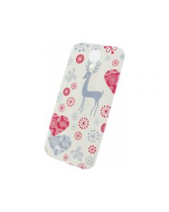 Xccess Battery Cover Samsung Galaxy S4 I9500/I9505 Fantasy White Deer