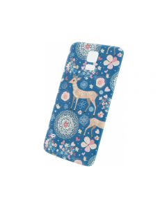 Xccess Battery Cover Samsung Galaxy S5/S5 Plus/S5 Neo Fantasy Blue Deer
