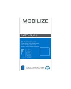 Mobilize Full Coverage Safety Glass Screen Protector Samsung Galaxy A7 2018 Black