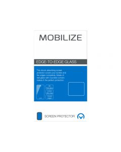 Mobilize Edge-To-Edge Glass Screen Protector Apple iPhone Xs Max/11 Pro Max Black